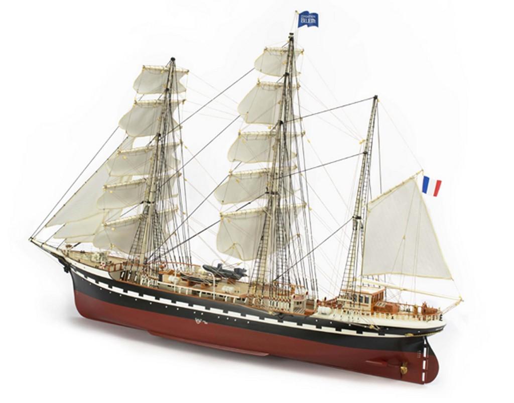 Maquette bois le belem for Bois flotte nantes