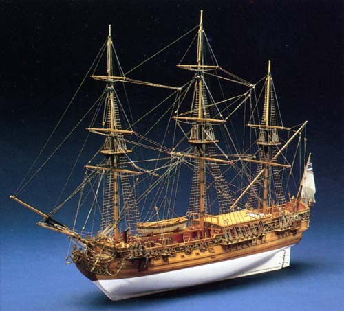 maquette bateau bois royal caroline. Black Bedroom Furniture Sets. Home Design Ideas