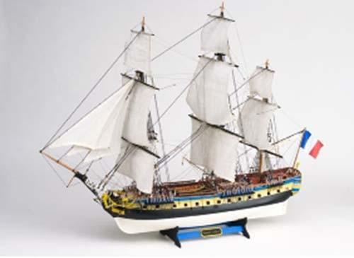 maquette bateau bois hermione présentation de la maquettes artésania  ~ Accastillage Maquette Bateau Bois