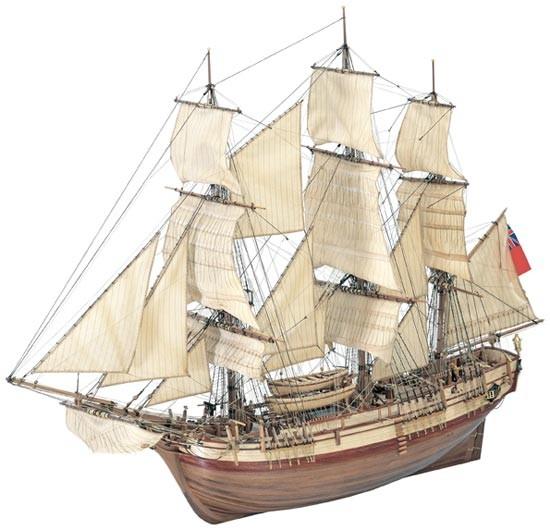 Maquette bateau bois Le Bounty ~ Accastillage Maquette Bateau Bois