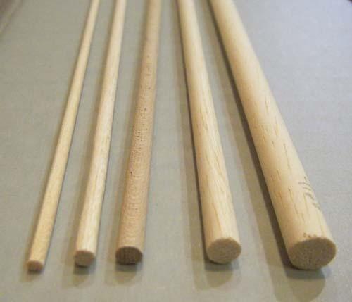 Baguette de bois ronde c ble lectrique cuisini re vitroc ramique - Baguette pour cable electrique ...