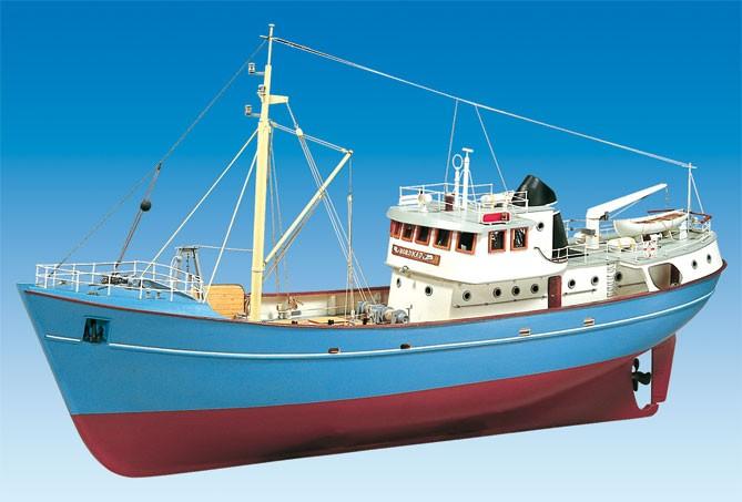 Maquette Bateau Navigante Nordkap