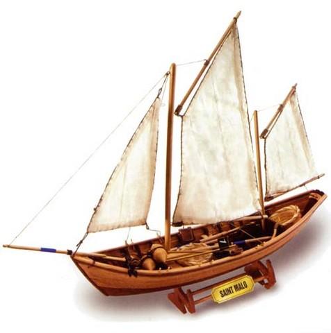 maquette bateau bois le doris st malo. Black Bedroom Furniture Sets. Home Design Ideas